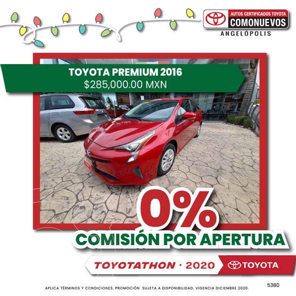 Foto Toyota Prius Premium SR usado (2016) color Rojo precio $265,000