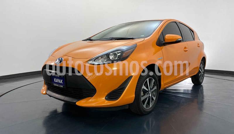 Toyota Prius 1.5L usado (2019) color Naranja precio $287,999