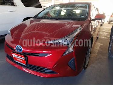 Toyota Prius 5p Premium SR Hibrido L4/1.8 Aut usado (2018) color Rojo precio $395,000