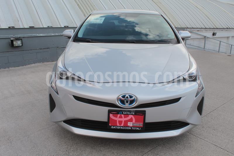 Toyota Prius Premium usado (2017) color Plata Metalico precio $335,000