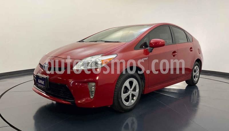 Toyota Prius BASE usado (2015) color Rojo precio $214,999