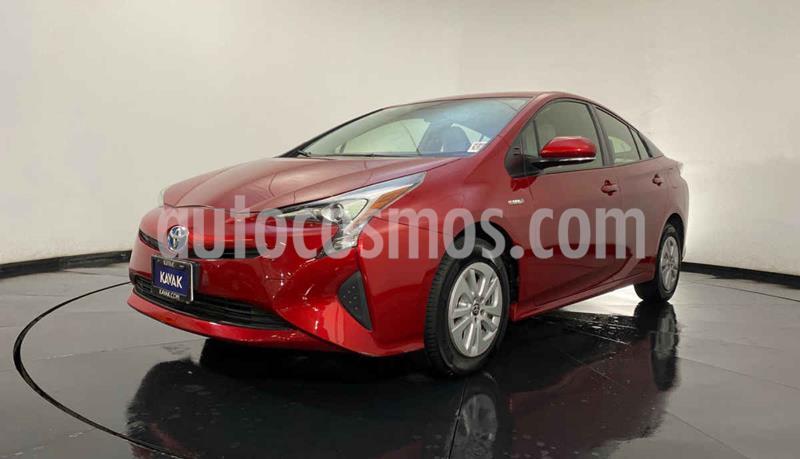 Toyota Prius BASE usado (2017) color Rojo precio $292,999