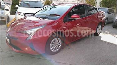 Toyota Prius 5p Premium SR Hibrido L4/1.8 Aut usado (2017) color Rojo precio $319,000