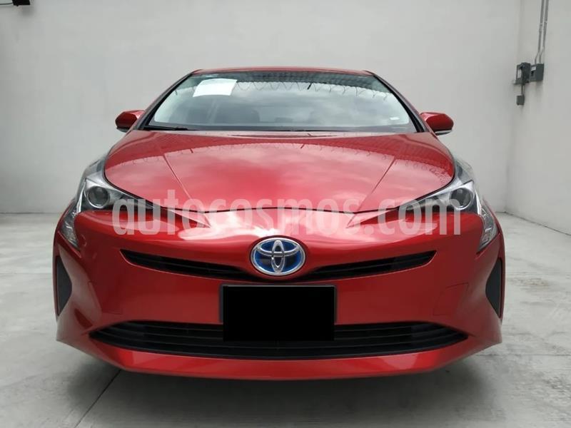 Toyota Prius 1.8L CVT usado (2017) color Rojo Vivo precio $90,000