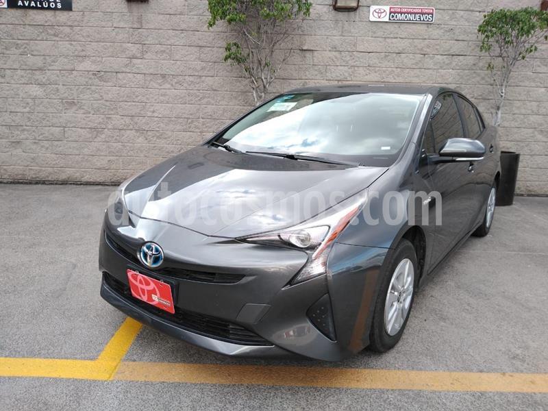 Toyota Prius Premium SR usado (2017) color Gris precio $302,000