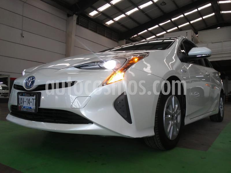 Toyota Prius Premium usado (2017) color Blanco precio $295,000