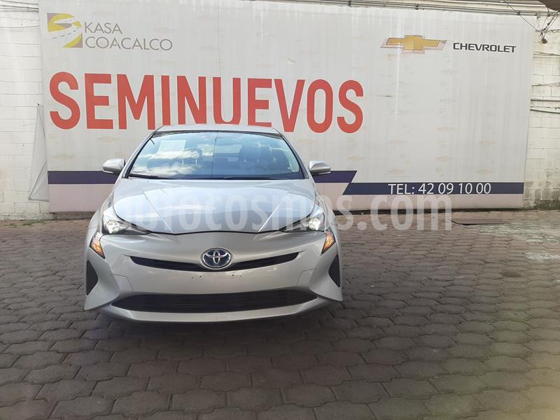 Toyota Prius BASE usado (2017) color Gris precio $260,000