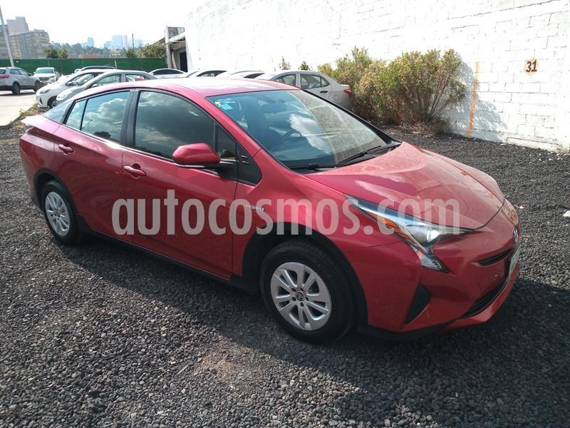 Toyota Prius BASE usado (2016) color Rojo precio $249,000