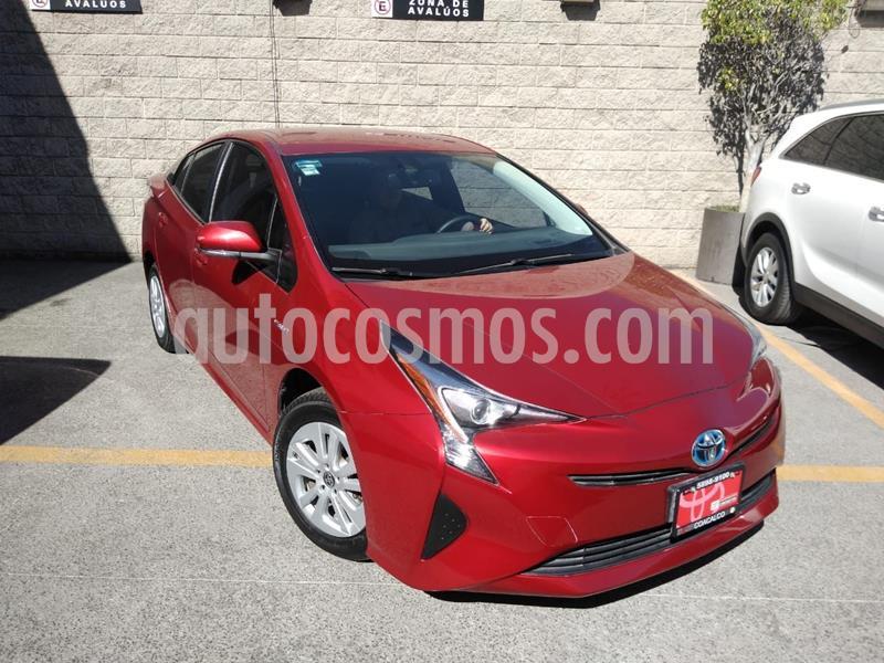 Toyota Prius Premium SR usado (2017) color Rojo precio $293,000