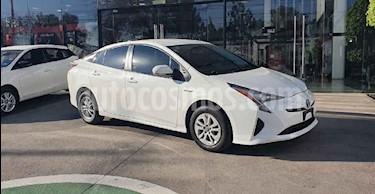 Toyota Prius 5p Base Hibrido L4/1.8 Aut usado (2016) color Blanco precio $268,000