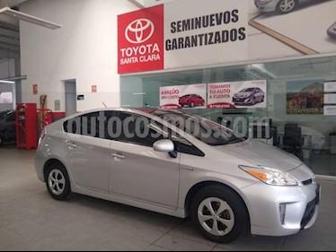 Toyota Prius 5P HB PREMIUM HIBRIDO TA 6 CD PIEL RA-16 usado (2014) color Plata precio $220,000