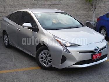 Toyota Prius 5p Premium SR Hibrido L4/1.8 Aut usado (2017) color Plata precio $350,000