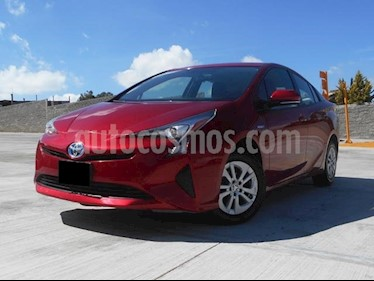 Foto venta Auto usado Toyota Prius Premium (2017) color Rojo precio $350,000