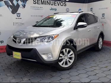 Foto venta Auto usado Toyota RAV4 2.4L Limited 4WD (2015) color Plata Metalizado precio $319,000