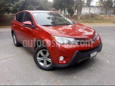 Foto venta Auto usado Toyota RAV4 5p XLE L4/2.5 Aut (2015) color Rojo precio $280,000