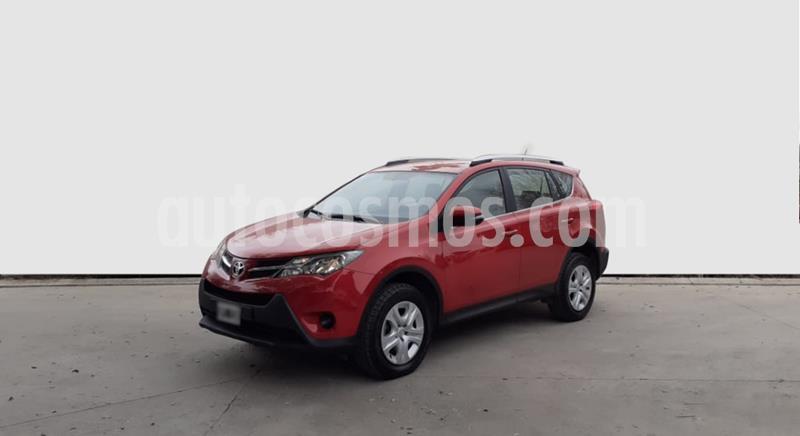 Toyota RAV4 TX 4x2 Aut usado (2014) color Rojo precio $1.650.000