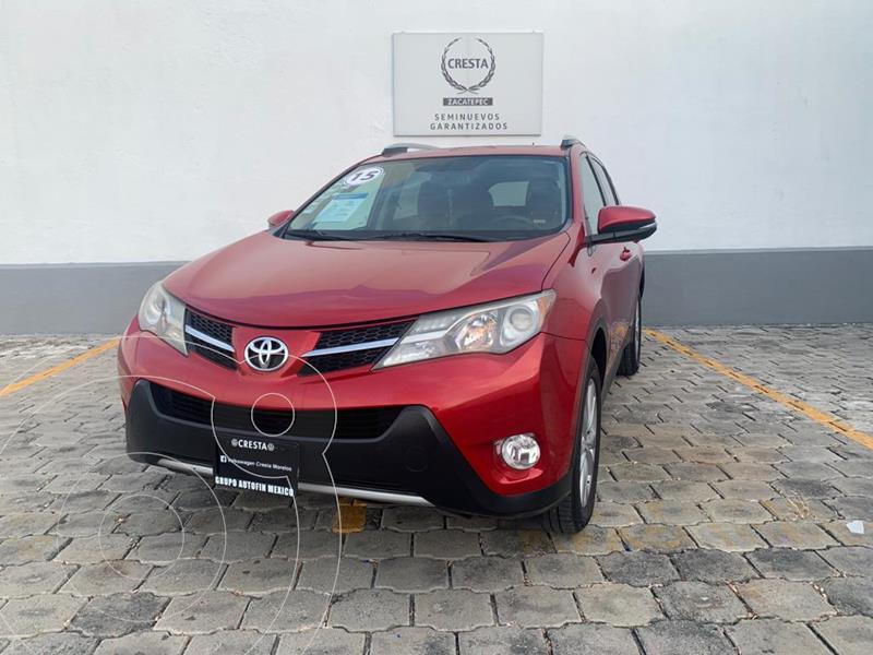 Foto Toyota RAV4 Limited Platinum usado (2015) color Rojo precio $279,900
