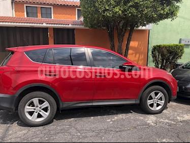 Toyota RAV4 XLE  usado (2013) color Rojo precio $200,000