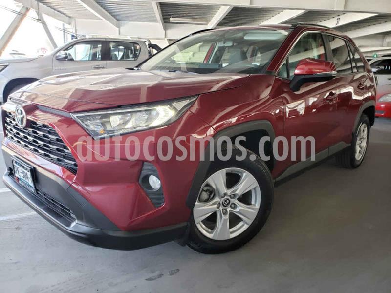 Toyota RAV4 XLE  usado (2019) color Rojo precio $425,000