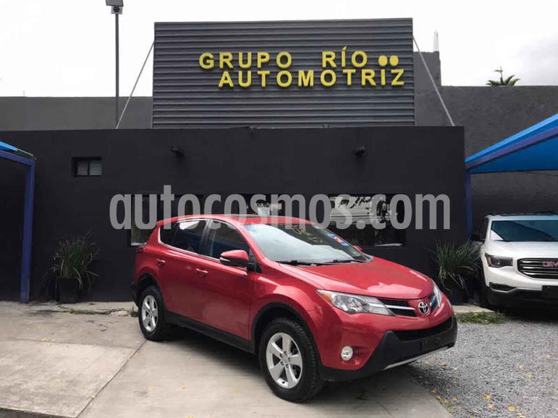 Toyota RAV4 XLE 4WD usado (2013) color Rojo precio $219,000