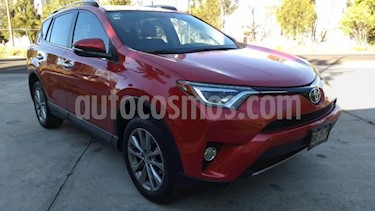 Toyota RAV4 5P LIMITED L4 TA PIEL QC F. NIEBLA RA-17 4X4 usado (2017) color Rojo precio $355,000