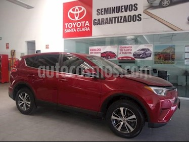 Toyota RAV4 5P LIMITED L4 TA PIEL QC F. NIEBLA RA-17 4X4 usado (2018) precio $390,000