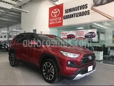 foto Toyota RAV4 5P ADVENTURE L4 TA TP F. NIEBLA RA-19 4X4 usado (2019) color Rojo precio $485,000