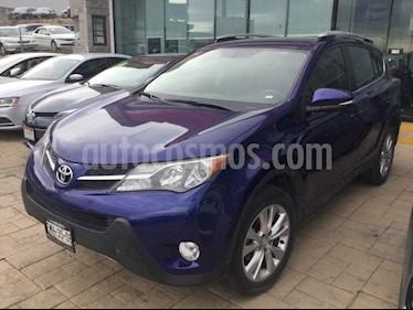 Toyota RAV4 Limited Platinum usado (2015) color Azul precio $298,000