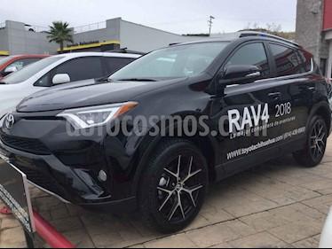 Toyota RAV4 SE 4WD usado (2018) color Negro precio $460,000