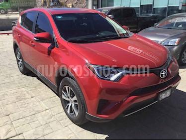 Toyota RAV4 5p XLE Plus L4/2.5 Aut usado (2017) color Rojo precio $368,000