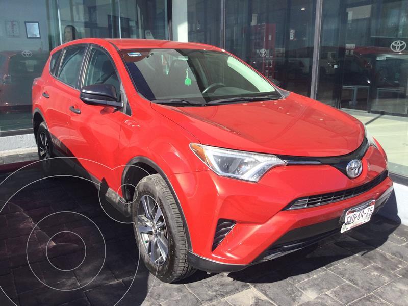 Toyota RAV4 2.5L Base usado (2016) color Rojo Cobrizo precio $268,000