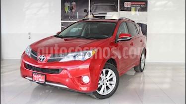 Toyota RAV4 5p Ltd Platinum L4/2.5 Aut usado (2015) color Rojo precio $285,000