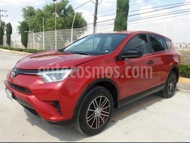 Toyota RAV4 5p LE L4/2.5 Aut usado (2017) color Rojo precio $279,000
