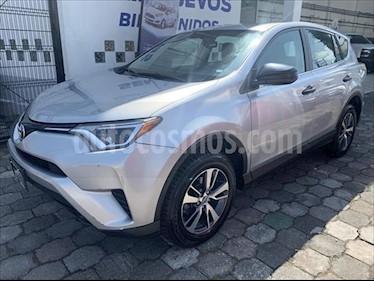 Toyota RAV4 5P LE L4/2.5 AUT usado (2017) color Plata precio $284,500
