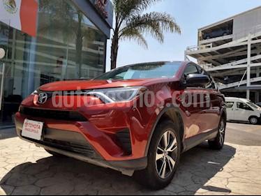 Toyota RAV4 5p LE L4/2.5 Aut usado (2018) color Rojo precio $340,000