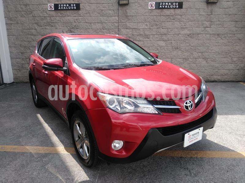 Toyota RAV4 XLE  usado (2015) color Rojo precio $225,000