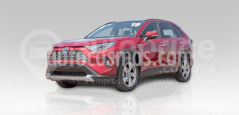 Toyota RAV4 Limited Hybrid usado (2019) color Rojo precio $540,000
