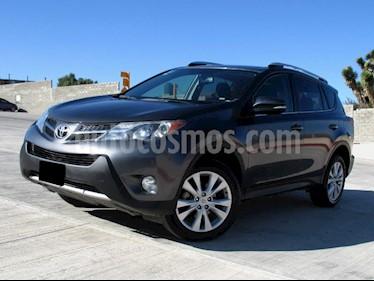 Toyota RAV4 Limited Platinum usado (2015) color Gris Oscuro precio $289,000