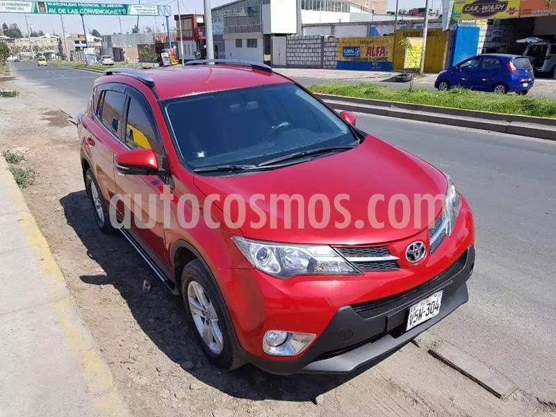 Toyota Rav4 GX 2.4L Aut usado (2014) color Rojo precio u$s4,555