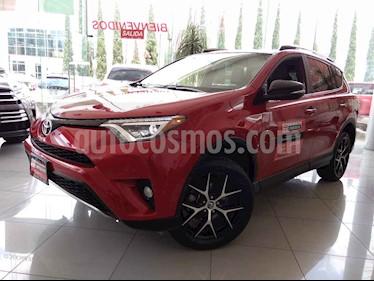 Foto venta Auto usado Toyota RAV4 SE 4WD (2017) color Rojo precio $365,000