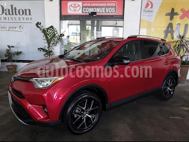 Foto venta Auto usado Toyota RAV4 SE 4WD (2016) color Rojo precio $369,000