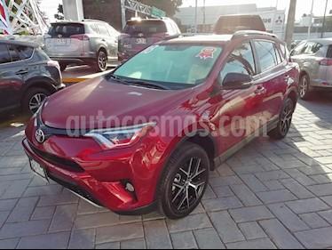 Foto venta Auto usado Toyota RAV4 SE 4WD (2018) color Rojo precio $429,000