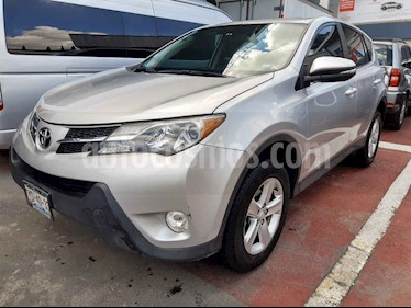 Foto venta Auto usado Toyota RAV4 XLE 4WD (2014) color Plata precio $260,000