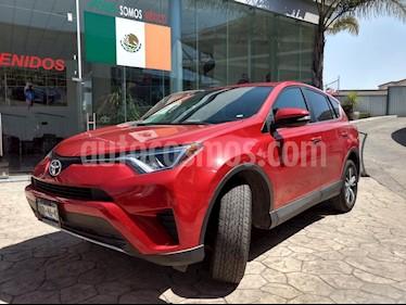 Foto venta Auto usado Toyota RAV4 XLE 4WD (2017) color Rojo precio $345,000