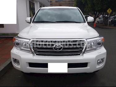 Toyota sahara land cruiser usado (2015) color Blanco precio $100.000.000