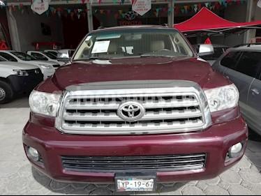Foto venta Auto Seminuevo Toyota Sequoia Limited (2010) color Vino Tinto precio $255,000
