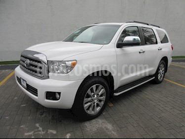 Foto venta Auto usado Toyota Sequoia Limited (2017) color Blanco precio $689,000