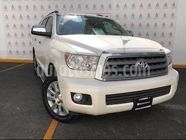 Toyota Sequoia Platinum usado (2017) color Blanco Perla precio $630,000