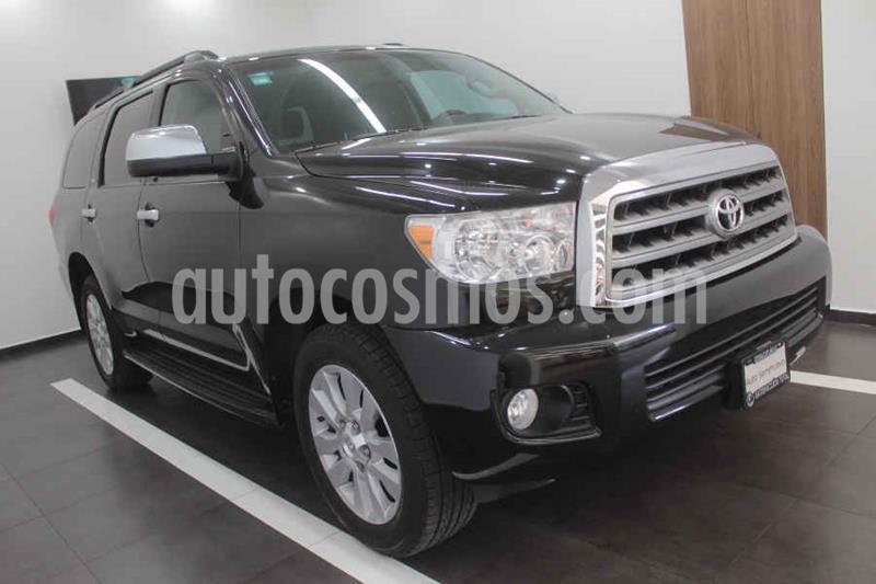 Toyota Sequoia Platinum usado (2016) color Negro precio $489,000