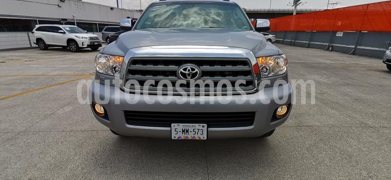 Toyota Sequoia Platinum usado (2016) color Plata precio $579,000
